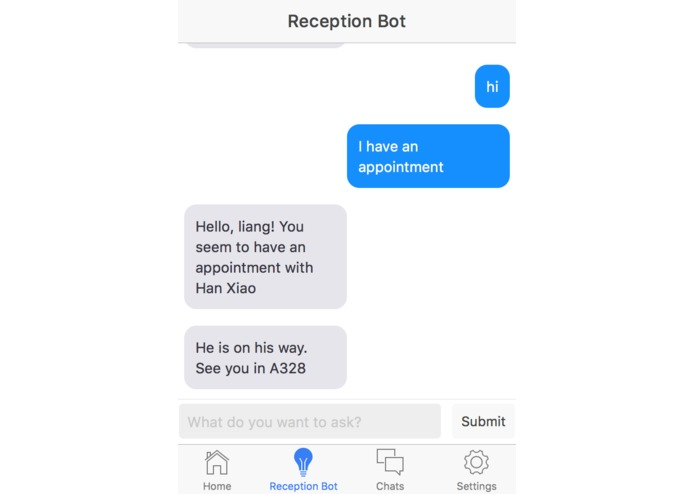 Smart Receptionist – screenshot 2