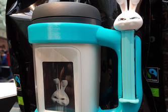 Bunny PEZ / Muki Cup Holder