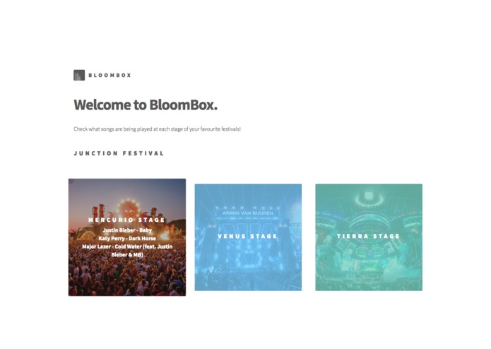 BloomBox – screenshot 1