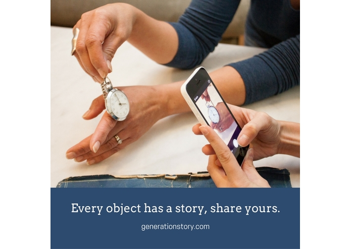 GenerationStory, an iOS app – screenshot 1