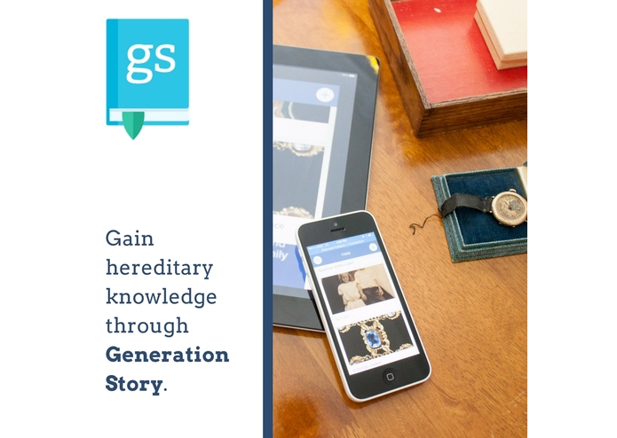 GenerationStory, an iOS app – screenshot 2