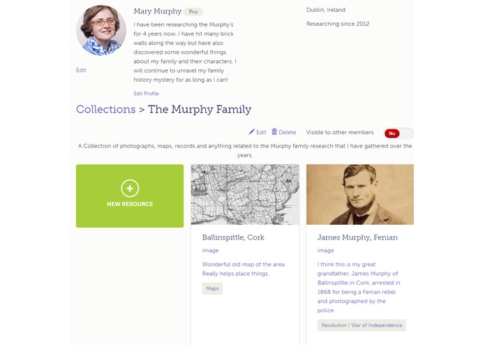 Irish Family History Centre – screenshot 2