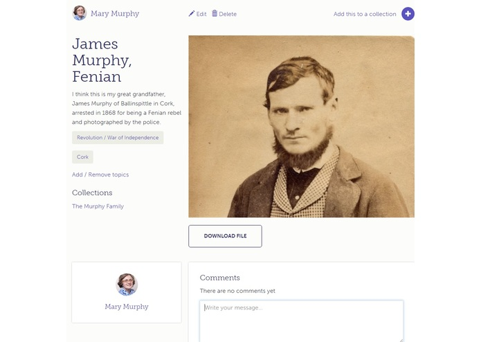 Irish Family History Centre – screenshot 4