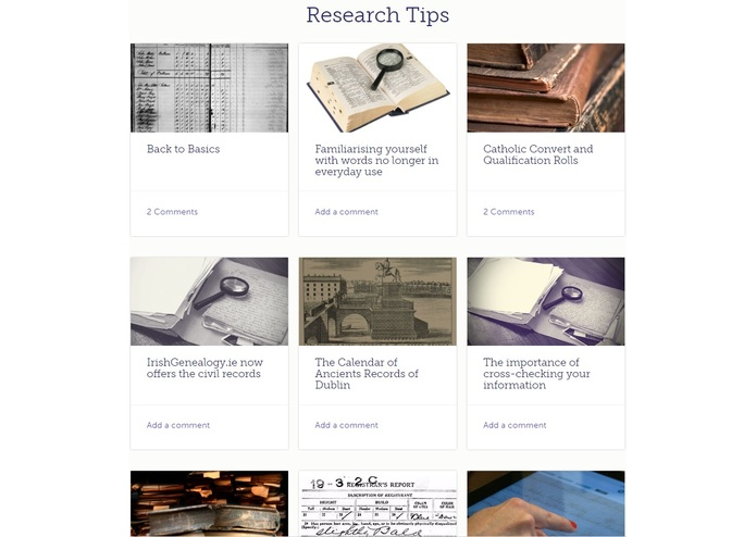 Irish Family History Centre – screenshot 8