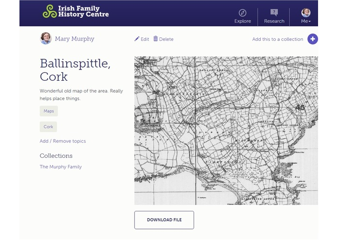 Irish Family History Centre – screenshot 6