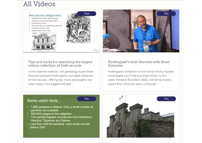 Irish Family History Centre – screenshot 9