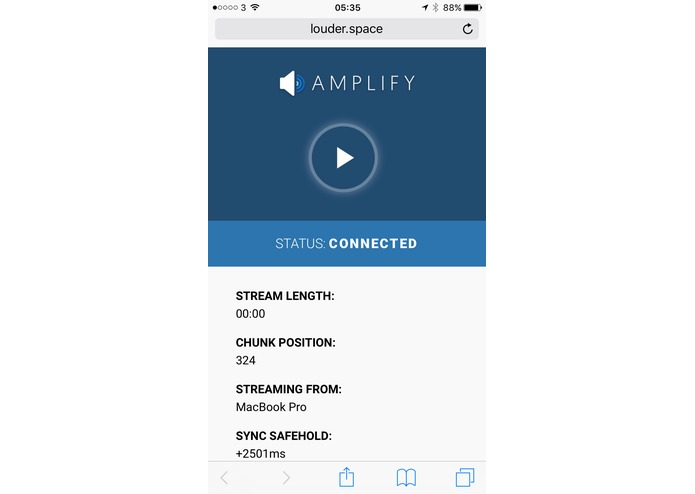 Amplify – screenshot 3