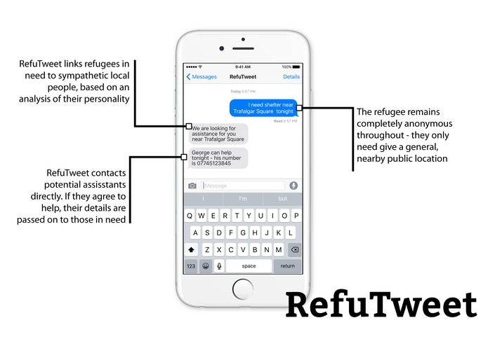 RefuTweet – screenshot 2