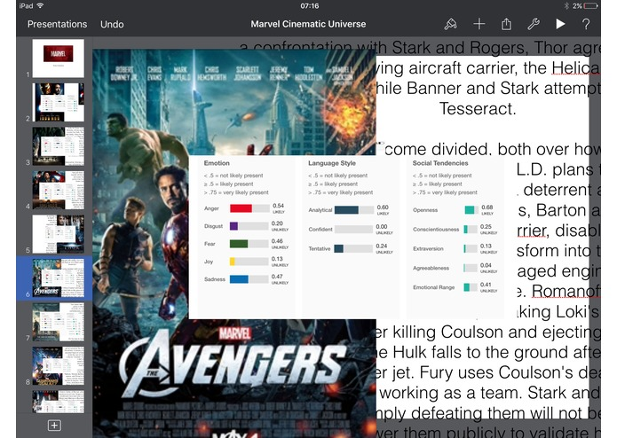 MarvelOS – screenshot 1