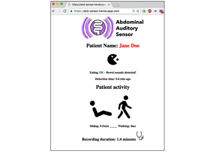 Abdominal Auditory Monitor – screenshot 2