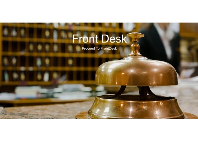 Frontdesk - Hotel Management System – screenshot 1