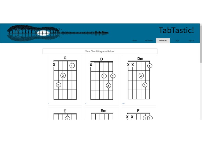 Tabtastic - Guitar Chord Sheet Sharing Site – screenshot 3