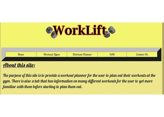 WorkLift – screenshot 1