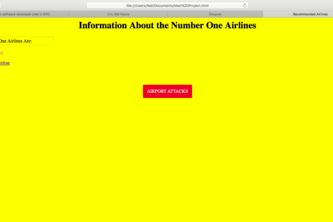 Airports Web Page