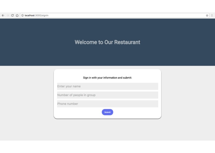 Waitlist – screenshot 1
