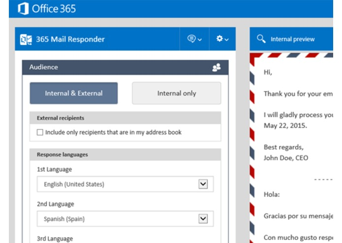 Mail Responder for Outlook – screenshot 4