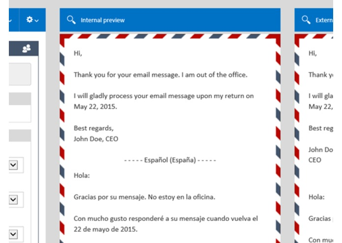 Mail Responder for Outlook – screenshot 5