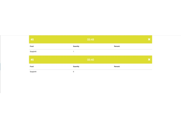 037a - Order Management System – screenshot 2
