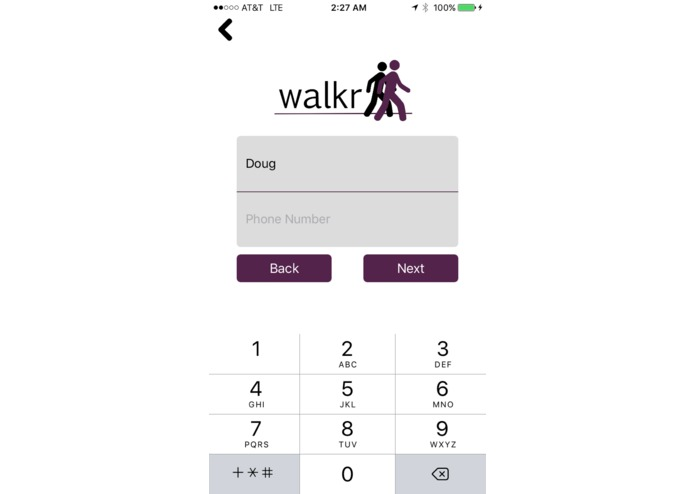 Walkr – screenshot 3