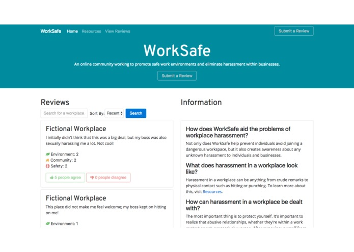 WorkSafe – screenshot 1