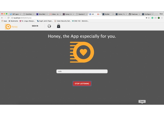 Honey – screenshot 2