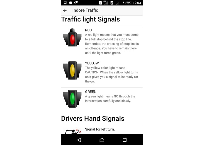My Indore Traffic App – screenshot 5