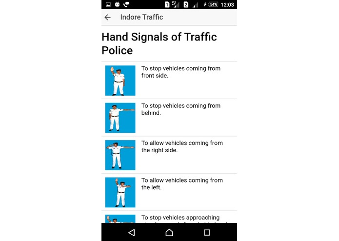 My Indore Traffic App – screenshot 7