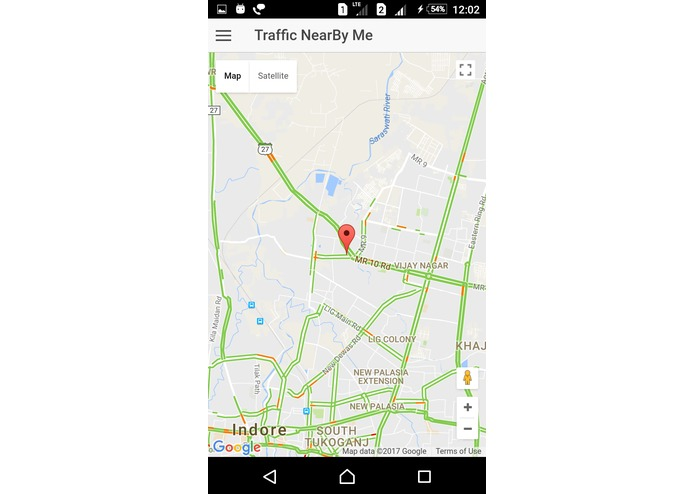 My Indore Traffic App – screenshot 4