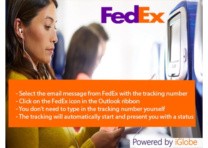 FedEx Tracking for Outlook – screenshot 4
