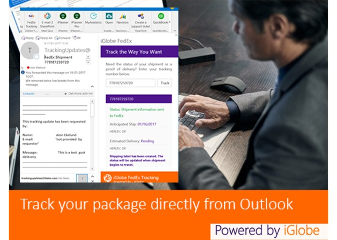 FedEx Tracking for Outlook – screenshot 6