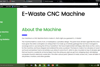 E-Waste CNC Machine