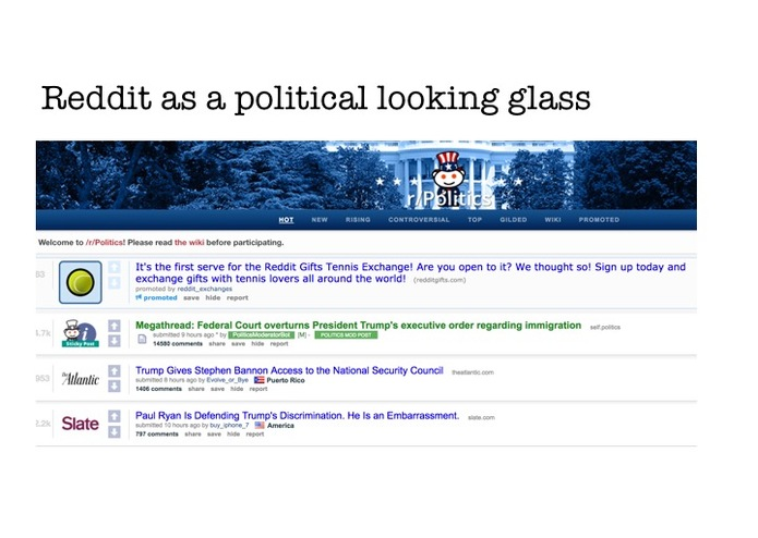 Data Mining Political Emotions on Reddit – screenshot 7