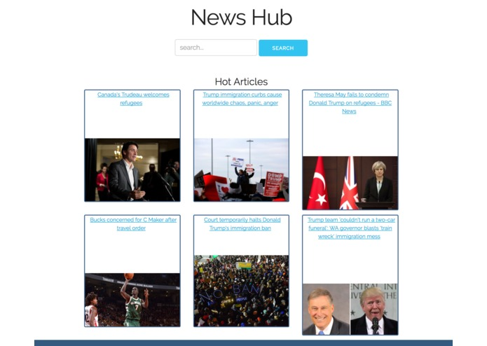 NewsHub – screenshot 1
