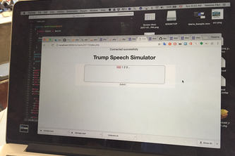 Trump Speech Simulator