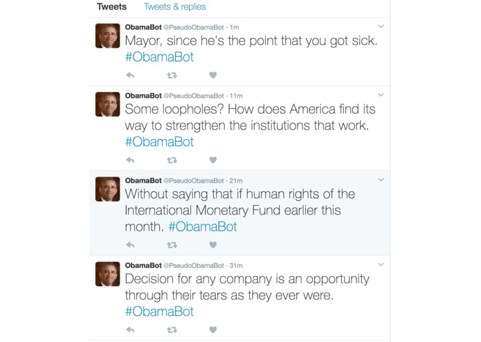 Team: # - ObamaBot – screenshot 2