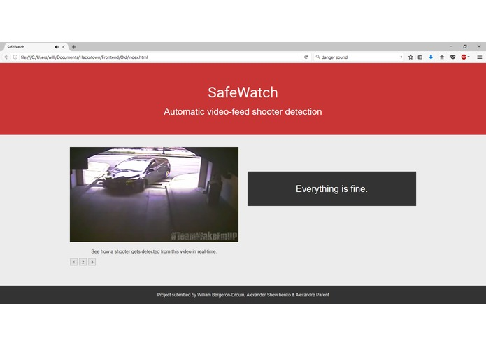 SafeWatch – screenshot 2