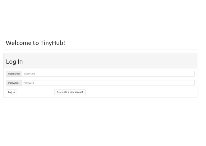 TinyHub – screenshot 1