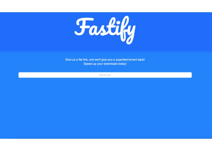 Fastify – screenshot 1