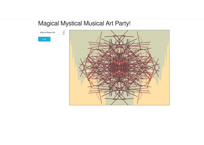 Magical Mystical Musical Art Party – screenshot 1