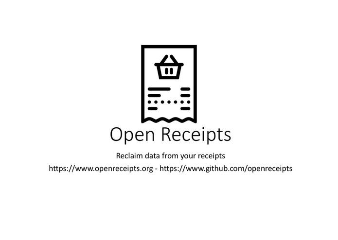 Open Receipts – screenshot 1