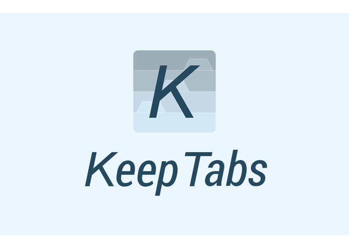 KeepTabs – screenshot 1