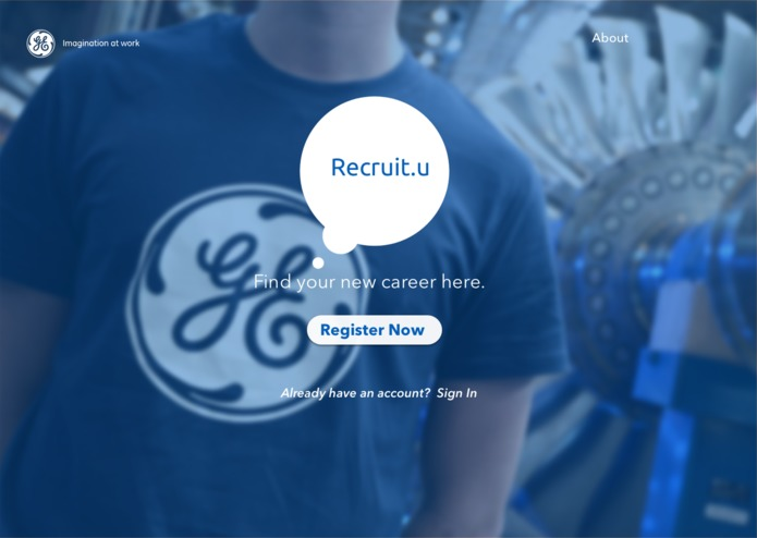 Recruit.U – screenshot 1