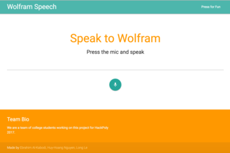 Wolfram Speech