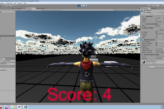 GPA calculator, the game project based Kinect/Oculus