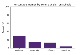 Gender Ratios in Professional Physics