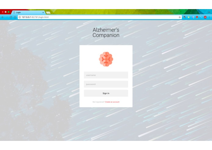 Alzheimer's Companion – screenshot 1