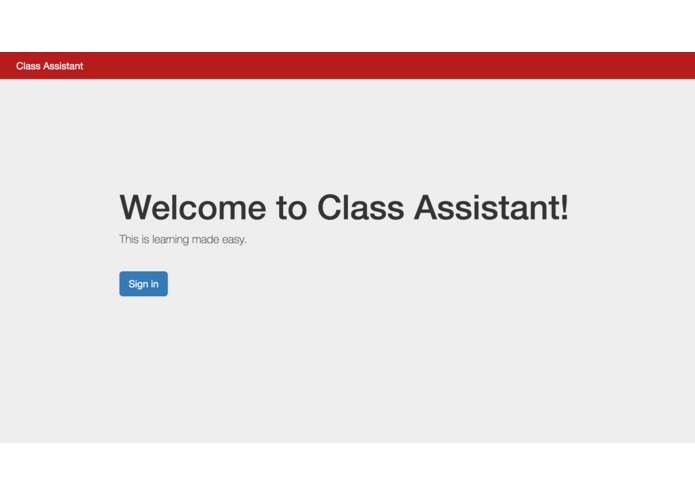 Class Assistant – screenshot 1