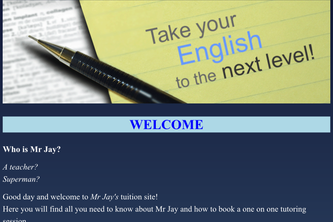 Tuition Website