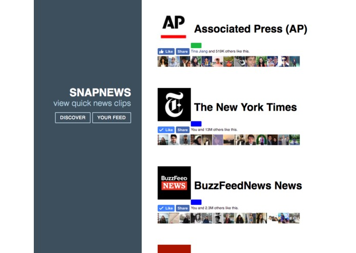 snapnews – screenshot 1