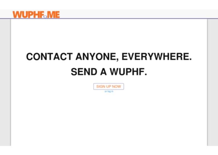 WUPHF.ME – screenshot 1